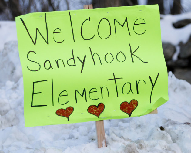 Sandy Hook signs