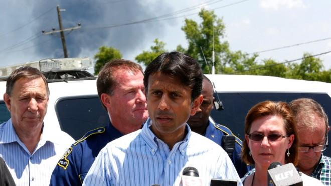 Gov. Bobby Jindal says there has been at least one casualty from a chemical plant explosion near Baton Rouge.