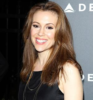 "Alyssa Milano: Son Milo ""Started Talking at 4 Months"""