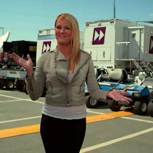 NASCAR Automotive Technology Series: TV compound