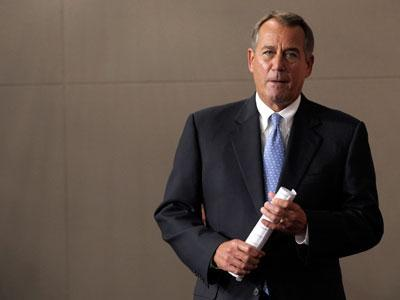 Boehner: Debt limit should be part of talks
