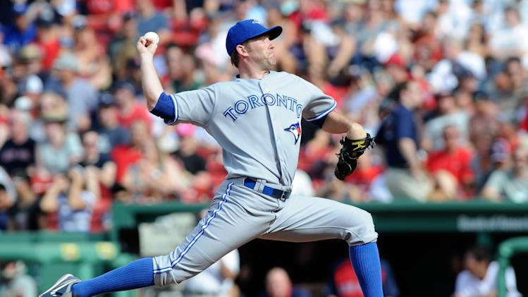 MLB: Toronto Blue Jays at Boston Red Sox