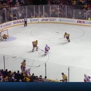 Pekka Rinne Save on Jakub Kindl (05:21/3rd)