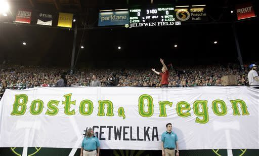 Timbers and Revolution play to 0-0 draw