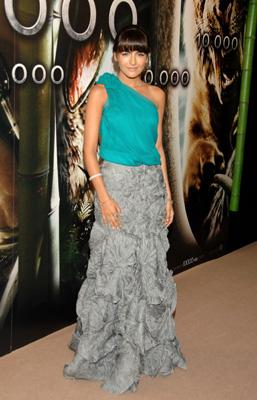 Camilla Belle at the Madrid premiere of 10,000 B.C.