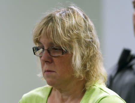 File photo of Joyce Mitchell suspected of having smuggled contraband into the prison in Plattsburgh New York