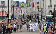 Paralympic Flame Arrives In London For Games