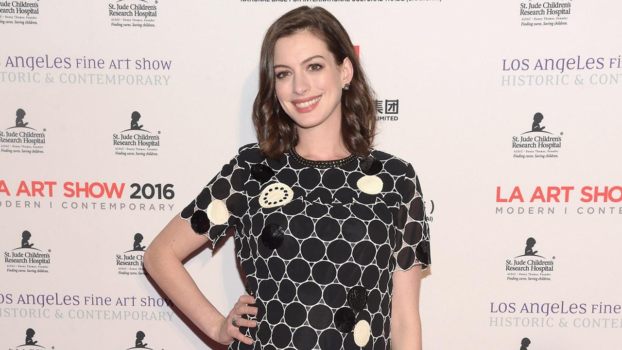 Anne Hathaway Shares an Adorable Childhood Photo: 'Look at This Little Dork'