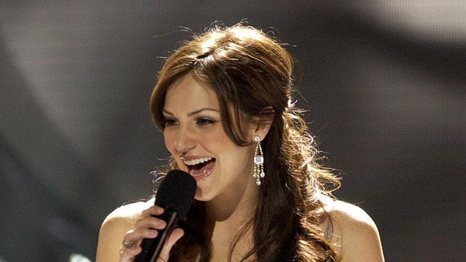 Katharine McPhee performs in American Idol, May 23, 2006, on FOX.