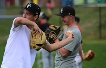 Greg Hauck threw a no-hitter with the use of just one hand — Jonathan Newton/The Washington Post