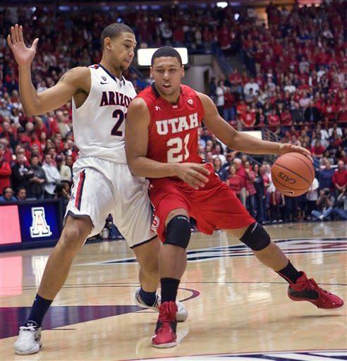 No. 3 Arizona holds on for 60-57 win over Utah