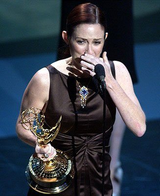 """Everybody Loves Raymond's"" Patricia Heaton wins for Best Actress in a Comedy Series 53rd Annual Emmy Awards - 11/4/2001"