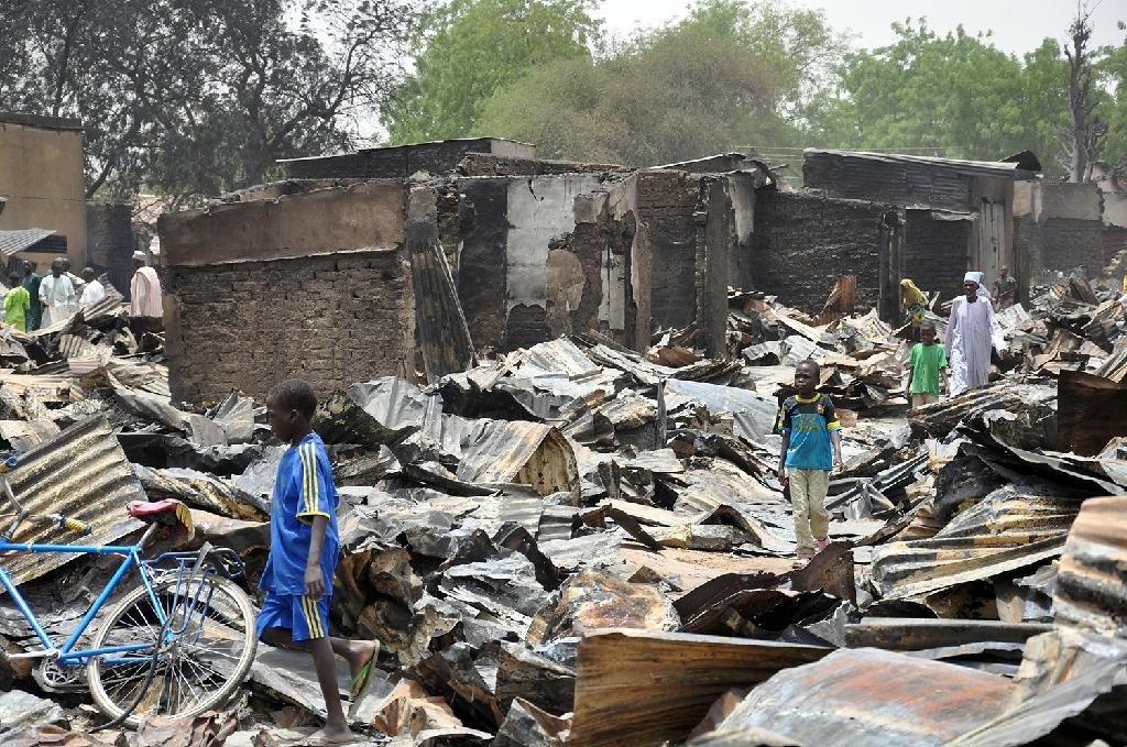 Nigeria military claims recapture of key town from Boko Haram
