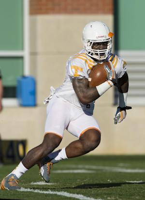 Vols' Lane shows growth by working through injury