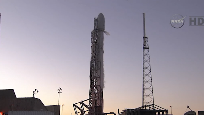 Watch the SpaceX Falcon 9 rocket launch here