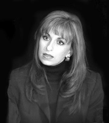 Paula Jones in Regent's The Hunting of the President