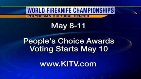 Previewing the World Fireknife Championships