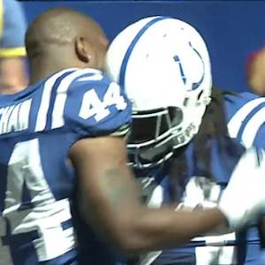 Indianapolis Colts running back Trent Richardson 1-yard touchdown run