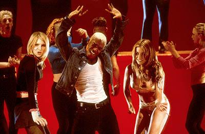 Vitamin C , Sisqo and Carmen Electra in Dimension's Get Over It