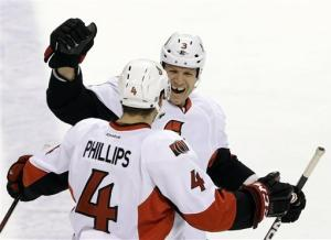 Karlsson, Senators beat Panthers 3-1 to open 3-0