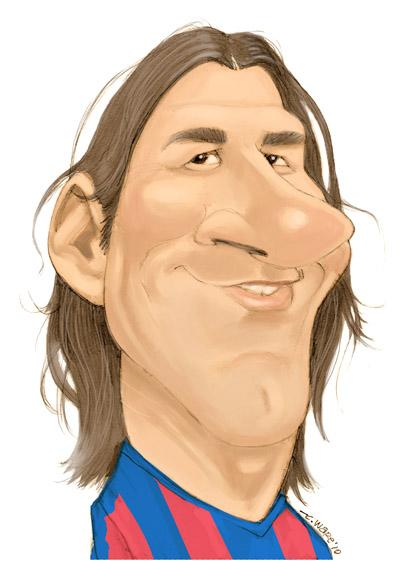 CARICATURE: Lionel Messi