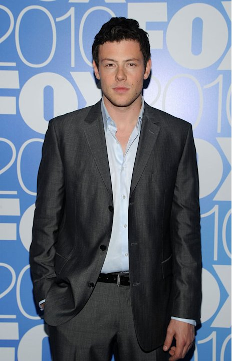 "Cory Monteith (""Glee"") attends the 2010 Fox Upfront after party at Wollman Rink, Central Park on May 17, 2010 in New York City."