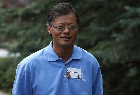 Co-founder of Yahoo Yang attends the Allen & Co Media Conference in Sun Valley