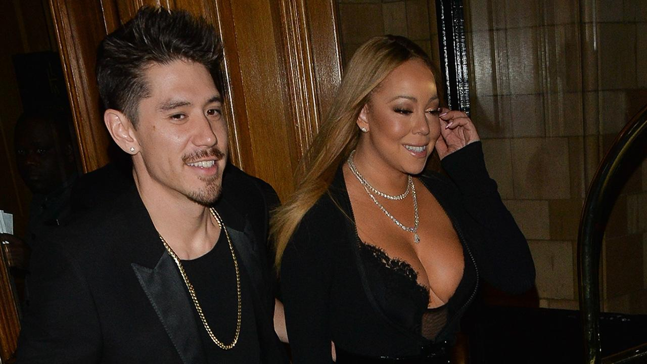 Mariah Carey Attends a Wedding With Bryan Tanaka in a Racy Ensemble: Pics!