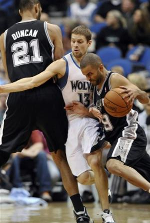 Timberwolves beat Spurs for 2nd straight win