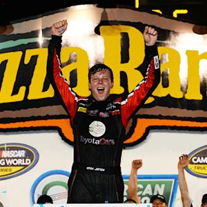 Victory Lane: Jones gets second career NCWTS win