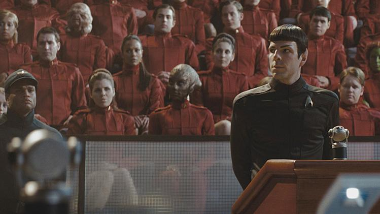 Star Trek Production Photos Paramount Pictures 2009 Zachary Quinto