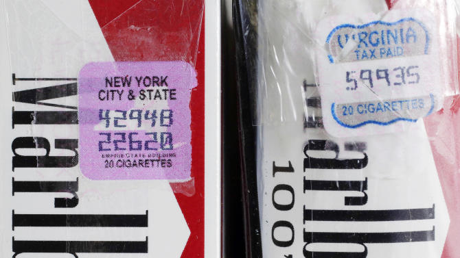 NYC cigarette tax fight hampered by low fines