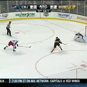 Milan Lucic wins it in OT