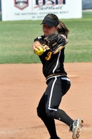 Courtney Mirabella pitched 16 scoreless innings in a marathon victory &#x2014; NCSA