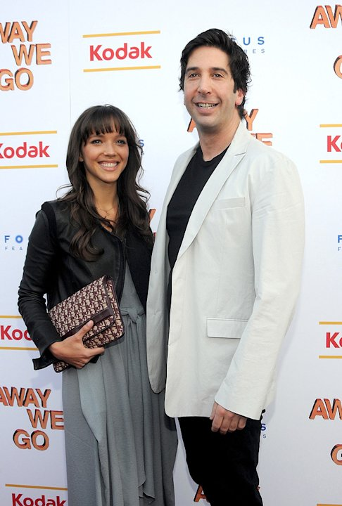 Away We Go NY Screening 2009 David Schwimmer