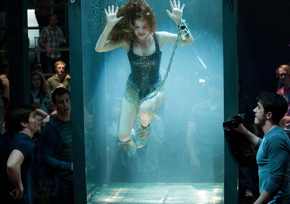 "This undated publicity photo released by Summit Entertainment, LLC shows Isla Fisher, in a scene from the film, ""Now You See Me,"" Summit Entertainment, LLC. (AP Photo/Summit Entertainment, LLC, Barry Wetcher, SMPSP)"