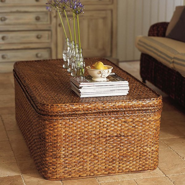 Extra Large Rattan Chest - £419 - The Holding Company