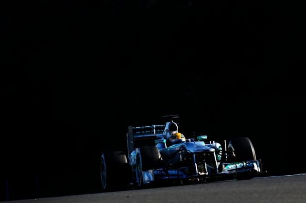 F1 Testing in Jerez - Day Two