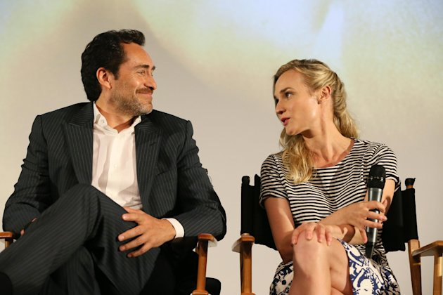 Demián Bichir and Diane Kruger at FX's Screening of The Bridge held at The Pacific Design Center on May 20, 2013 /Invision for CLIENT NAME/AP Images)