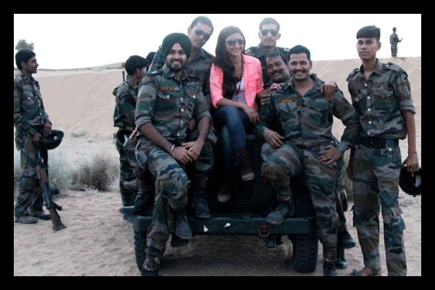 On the sets of 'War Chod Na Yaar'