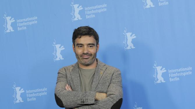 Director Ferreira poses during a photocall to promote the movie Cartas da guerra at the 66th Berlinale International Film Festival in Berlin