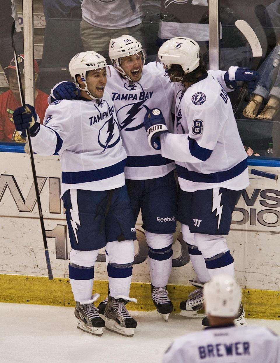 Lightning top Panthers 3-2 in OT
