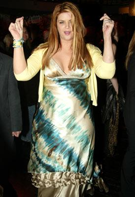 Kirstie Alley at the Los Angeles premiere of Showtime's Fat Actress - 2/23/2005