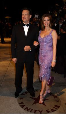 Tom Hanks and Rita Wilson Vanity Fair Party Hollywood, CA 3/24/2002