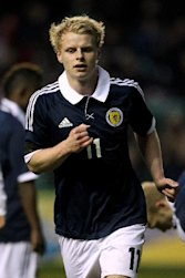 Gary Mackay-Steven will play no part against Belgium