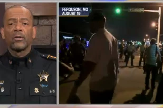 Missouri Sheriff Thinks Al Sharpton Should 'Go Back Into the Gutter He Came From' (Video)