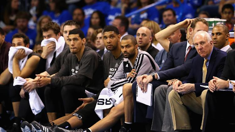 Spurs try to avert new collapse vs Thunder