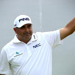 Angel Cabrera found success at The Greenbrier Classic 2014