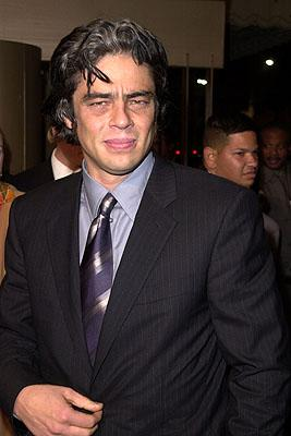 Benicio Del Toro at the Los Angeles premiere of Warner Brothers' The Pledge