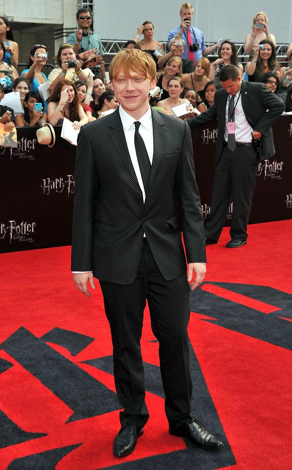 Harry Potter and the Deathly Hallows NY Premiere 2011 Rupert Grint